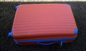 As new Large clean orange 28' hardcase suitcase 4 checked luggage Sunnybank Hills Brisbane South West Preview