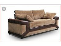 Scs Sheldon sofas with FREE FOOTSTOOL ##