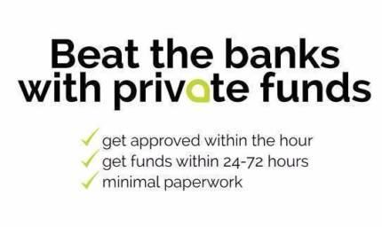 Short Term Private Non Bank Property Finance Sydney NSW