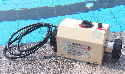 220V 2000W Swimming Pool and SPA Heater Electric Heating Thermostat