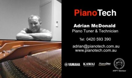 Piano Tuning | YAMAHA & KAWAI Authorised | APTTA Member Canning Vale Canning Area Preview