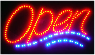 Bright New Led Open5 Neon Sign Bar Cafe Shop Cafe Bar Pub Animated 220v250v O5