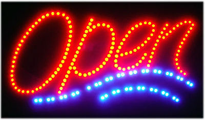 Atmsushikorean Food Led Open Sign Animated Neon Light Chain 19x10