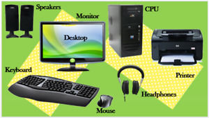 Pick up computer parts, small appliances, Electronics etc