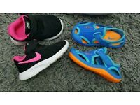 Baby nike3.5 and slippers 4