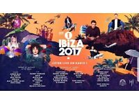 radio 1 ibiza tickets 2017