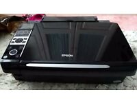 EPSON STYLUS SX400 INKJET ALL IN ONE PRINTER FOR SALE - IN AS NEW CONDITION.