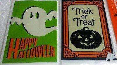 Halloween Treat Party Bags w/ Twist Ties 80 Count Ghost & Pumpkin Treat Bags 80