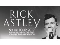 2 Rick Astley Tickets Thetford Forest 1st July CHEAPER PRICE