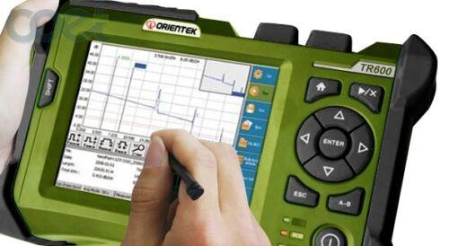 TR600 SS24CF1625 PON OTDR 180km fibra optica FTTH OTDR cable test meter OTDR