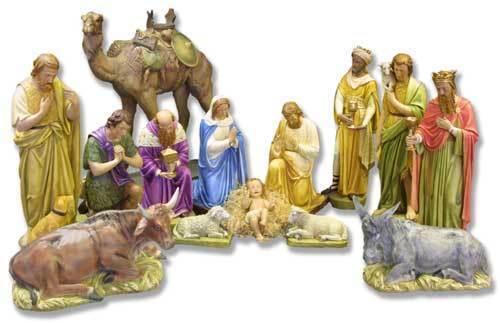 Church Nativity Set | eBay