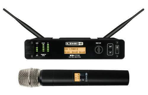 Line 6 XD-V75 Preamp Wireless Professional Microphone - NEW FACTORY SEALED MIC!