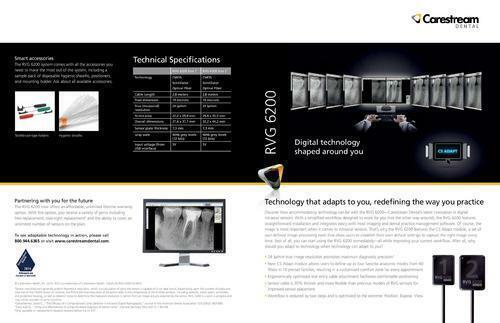 Brand New Carestream RVG 6200 Sensor | Size 2 | Free ship | offer price