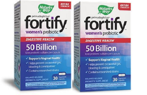 Nature's Way Fortify Women's Probiotic, Digestive, Extra Str
