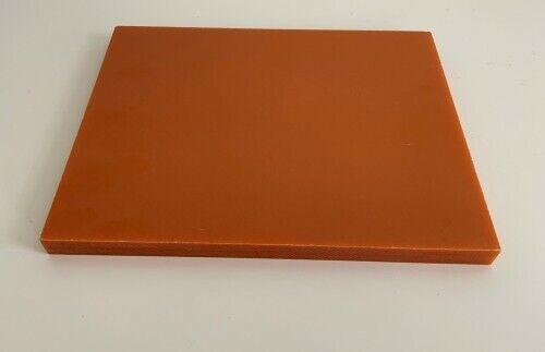Red Bakelite Resin Flat Sheet 15mm x 200mm x 250mm