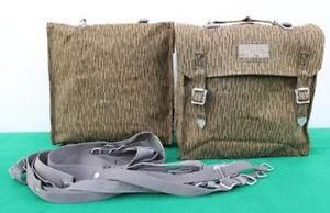 2x Simson MZ Seitentaschen Sturmgepäcktaschen Tasche NVA DDR S50 S51 NEU !