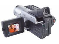 Sony handycam digital 8 DCR-TRV130E very rarely used