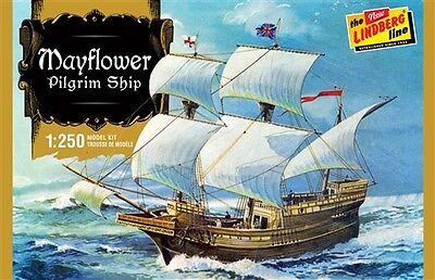Lindberg 1:250 Mayflower Plastic Model Kit 215 LND215