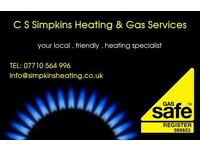 C S Simpkins Heating & Gas Services - Boiler servicing , breakdowns/repairs , replacements