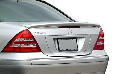 Stock in LA!Unpaint For Mercedes BENZ W203 C-class A Type Trunk Spoiler C55 AMG