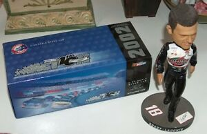 NASCAR Bobby Labonte Bobblehead and 02 Grand Prix Clear Ltd Ed London Ontario image 2