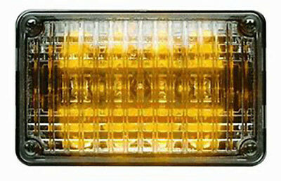 Whelen 400 Series Led Single Level Amber With Clear Lens 40a02zcr