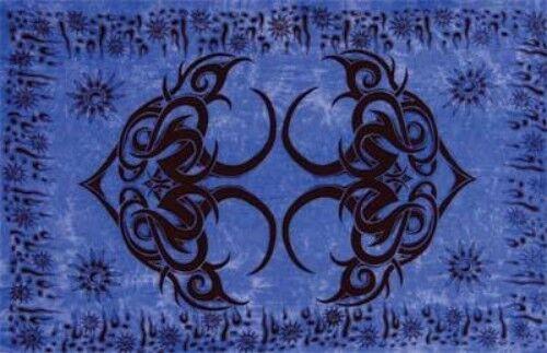"Blue Istanbul Sarong/Altar Cloth 62"" x 45"""
