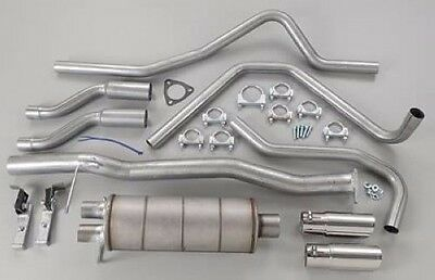 Gibson Dual Cat-Back Exhaust for 1998-2003 S10/Sonoma Extended Cab/2.2L 5539 Duals 2003 Cat Back Exhaust