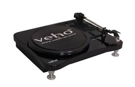 VEHO VTT-001 - USB TURNTABLE -Brand new