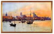 Gemälde Hafen