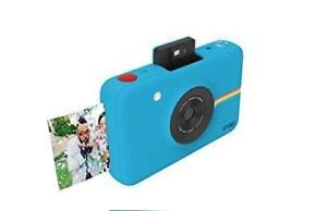 Polaroid Snap Instant Digital Camera (Blue) with ZINK Zero Ink Printing Technology Brand new