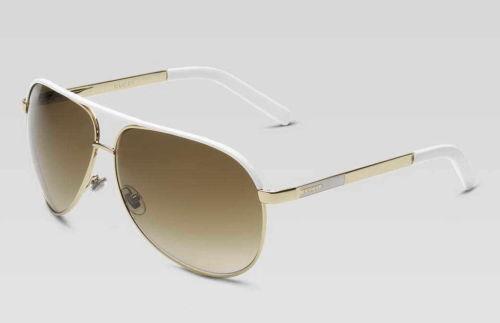 a434986c64711 Gucci White Aviator  Clothing