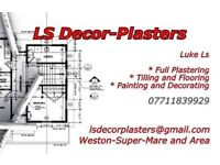 LS Decor-plasters plastering service in North Somerset and Area