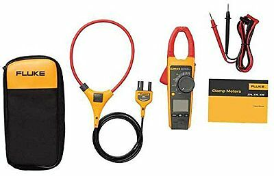 Fluke 376fc True-rms Acdc Clamp Meter With 18 Iflex Probe 1000a1000v