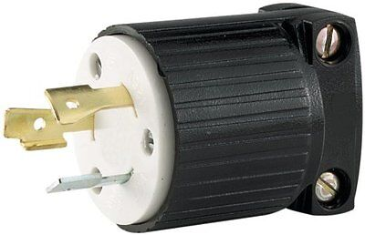 Eaton L530R 30-Amp 125-Volt Hart-Lock Industrial Grade Receptacle with Safety Gr