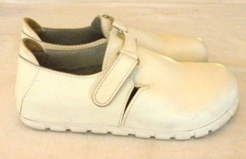 white birkenstock nursing shoes ebay