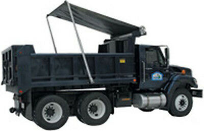 Dump Truck Electric Tarp System Kit Polished Aluminum Arms 5 Spring Free Shippin