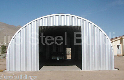 Durospan Steel 20x40x12 Metal Garage Workshop Home Building Kit Factory Direct