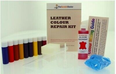 Leather ALL IN ONE Dye Paint Repair Kit for Worn & Scratch Restoring ALL -