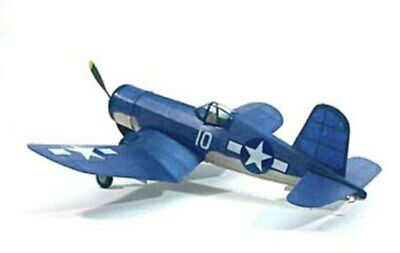 "Corsair #213 Dumas 17 ½"" Wingspan Balsa Wood Model Airplane (Dumas Wood)"