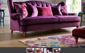 4 seater Sofa & matching love seat for £300! OVNO. Liberte range from sofaology.