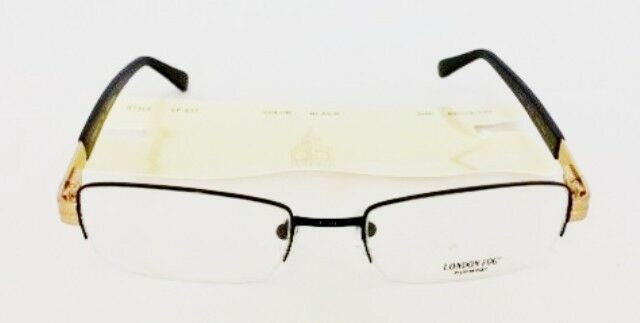 54-18-140 Eye Glasses Rectangle Metal Frame by LONDON FOG MSRP $185