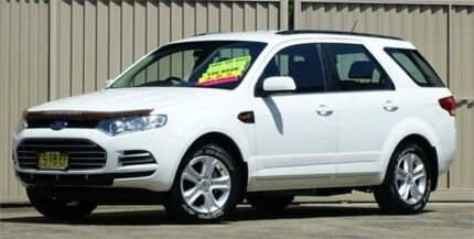 2011 Ford Territory SZ TX (RWD) White 6 Speed Automatic Wagon Lismore Lismore Area Preview