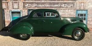 COLLECTABLE CLASSIC CARS - 1938 Ford V8 Club Coupe Strathalbyn Alexandrina Area Preview