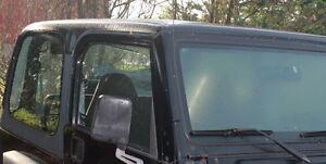 Jeep TJ Rear Hard Top Glass & Hard Top Complete