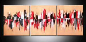 Beautiful 3 Piece Abstract Painting Set