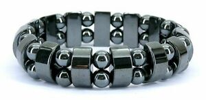 Magnetic Hematite Bracelet Therapy Healthy Men's Women's Bangle