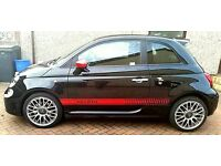 FIAT 500 ABARTH 595. 1.4L. 16 PLATE. PETROL. MANUAL. 145BHP. FSH. EXCELLENT CONDITION