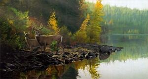 "Terry Isaac Limited Edition Print:""Autumn Gold """