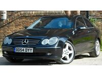 Mercedes-Benz CLK 2.7 CLK270 CDI Avantgarde 2dr (black) 2004